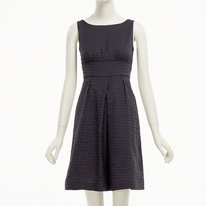 J. Crew Deco Dot Shift Cotton Sleeveless Dress